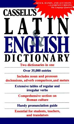 CASSELL'S CONCISE LATIN ENGLISH DICTIONA, D.P. SIMPSON