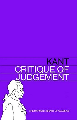 Image for Critique of Judgement (Hafner Library of Classics)