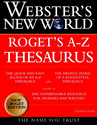 Image for Webster's New World Roget's A-Z Thesaurus