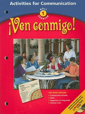 Image for Activities for Communication, Level 1: Holt Spanish- Ven Conmigo!