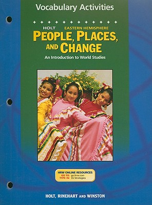 Image for Holt People, Places, and Change Eastern Hemisphere Vocabulary Activities: An Introduction to World Studies