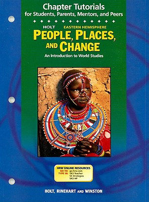 Image for Holt Eastern Hemisphere People, Places, and Change Chapter Tutorials: An Introduction to World Studies