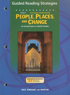 Image for Holt People, Places, and Change Eastern Hemisphere Guided Reading Strategies: An Introduction to World Studies