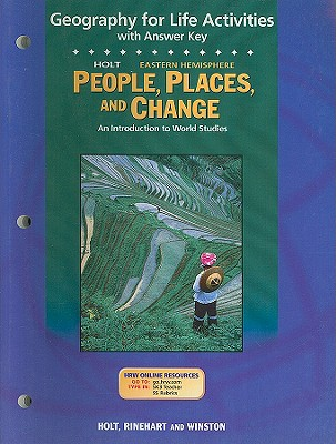 Image for Holt People, Places, and Change Eastern Hemisphere Geography for Life Activities with Answer Key: An Introduction to World Studies