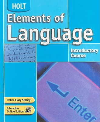 Image for Elements of Language: Student Edition Grade 6 2004