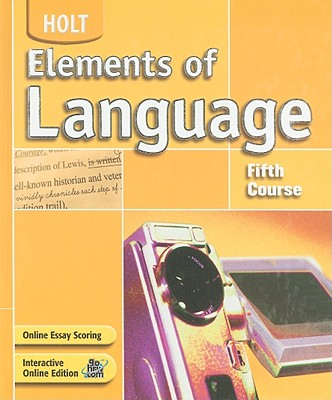 Image for Elements of Language: Fifth Course
