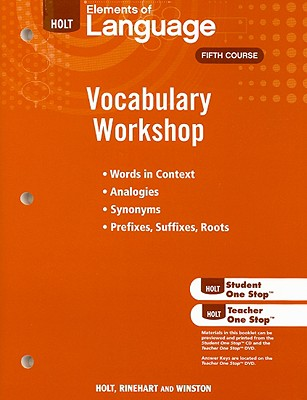 Image for Holt Traditions Vocabulary Workshop