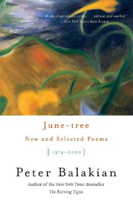 Image for June-tree: New and Selected Poems, 1974-2000