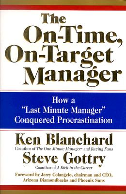 Image for ON-TIME, ON-TARGET MANAGER