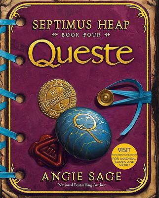 SEPTIMUS HEAP 4 QUESTE, ANGIE SAGE