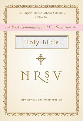 Image for NRSV, The HarperCollins Catholic Gift Bible, Imitation Leather, White: Holy Bible