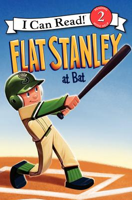 Flat Stanley at Bat (I Can Read Book 2), Jeff Brown