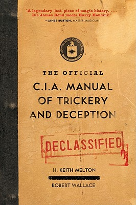 Image for The Official CIA Manual of Trickery and Deception