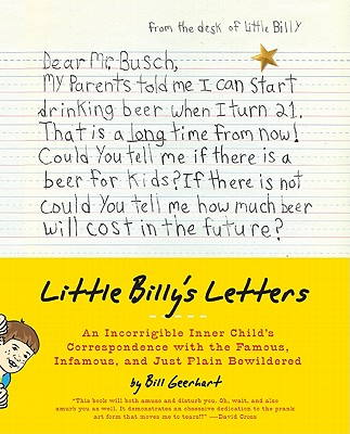 Image for LITTLE BILLY'S LETTERS : AN INCORRIGIBLE