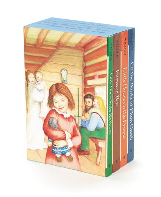 Image for Little House 4-Book Box Set: Little House in the Big Woods, Farmer Boy, Little House on the Prairie, On the Banks of Plum Creek