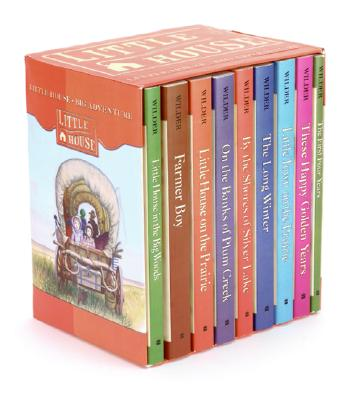 Image for LITTLE HOUSE ON THE PRAIRIE BOOKS