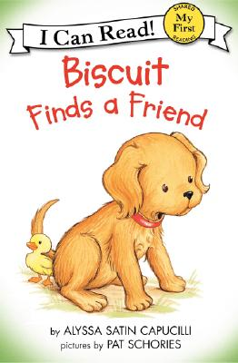 Biscuit Finds a Friend (My First I Can Read  Book ), Capucilli, Alyssa Satin