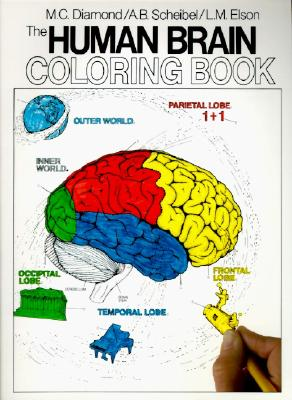 The Human Brain Coloring Book (Cos, 306), Diamond, Marian C.; Scheibel, Arnold B.