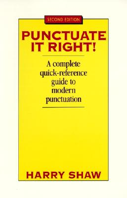 Punctuate It Right (Punctuate It Right!), Shaw, Harry