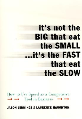 Image for It's Not the Big that Eat the Small...It's the Fast that Eat the Slow