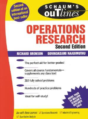 Schaum's Outline of Operations Research, Bronson, Richard; Naadimuthu, Govindasami