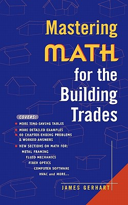 Image for Mastering Math for the Building Trades
