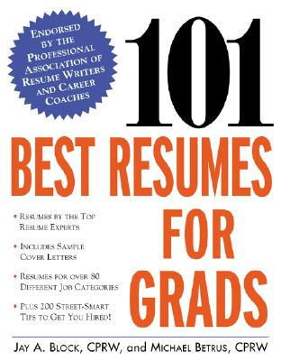 Image for 101 Best Resumes for Grads