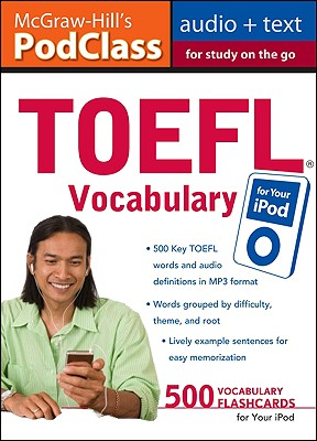Image for McGraw-Hill's PodClass TOEFL Vocabulary