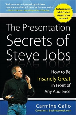Image for The Presentation Secrets of Steve Jobs: How to Be Insanely Great in Front of Any Audience