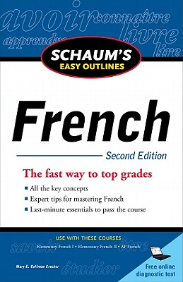 Image for Schaum's Easy Outline of French, Second Edition (Schaum's Easy Outlines)