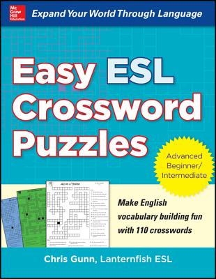 Image for Easy ESL Crossword Puzzles