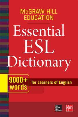 Image for McGraw-Hill Education Essential ESL Dictionary