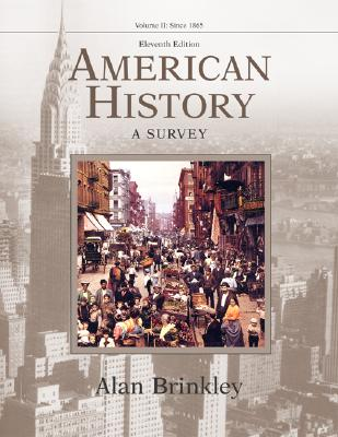 Image for American History: A Survey, Volume 2 MP w/PowerWeb