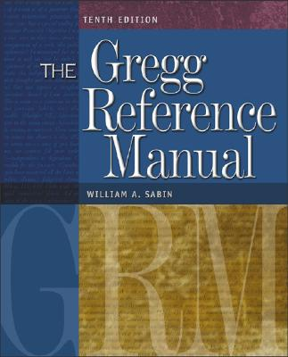 The Gregg Reference Manual, Sabin, William