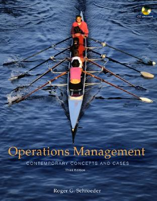 Image for Operations Management: Contemporary Concepts and Cases with Student CD-ROM