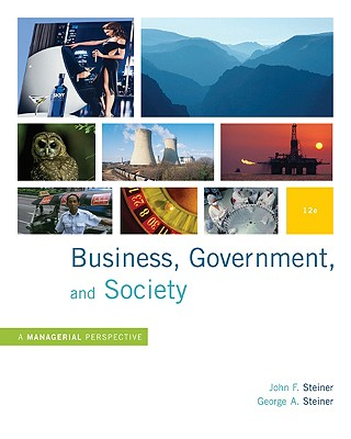 Image for Business, Government and Society: A Managerial Perspective, Text and Cases, 12th Edition