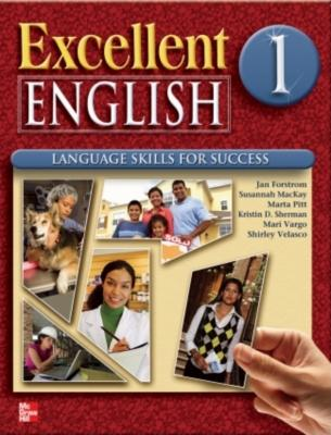 Excellent English Level 1 Student Book and Workbook Pack L1: Language Skills For Success, Susannah MacKay (Author), Kristin D. Sherman (Author), Jan Forstrom (Author), Marta Pitt (Author), Shirley Velasco (Author), Janet Podnecky (Author)
