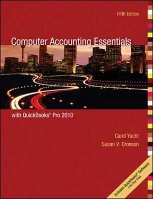 Image for Computer Accounting Essentials Using Quickbooks