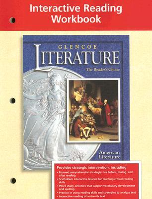 Image for Glencoe Literature Interactive Reading Workbook , American Literature