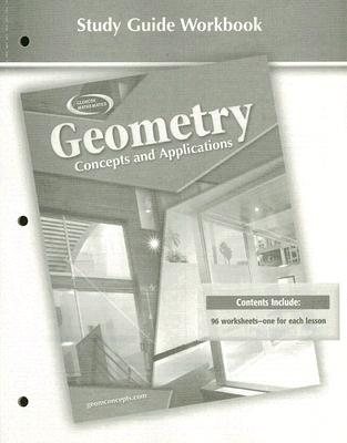 Image for Geometry: Concepts and Applications, Study Guide Workbook (GEOMETRY: CONCEPTS & APPLIC)
