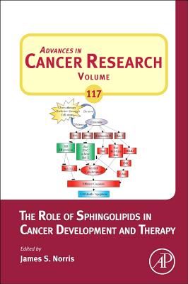 The Role of Sphingolipids in Cancer Development and Therapy, Volume 117 (Advances in Cancer Research), James Norris (Editor)