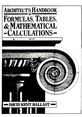 Architect's Handbook of Formulas, Tables, and Mathematical Calculations, Ballast, D.