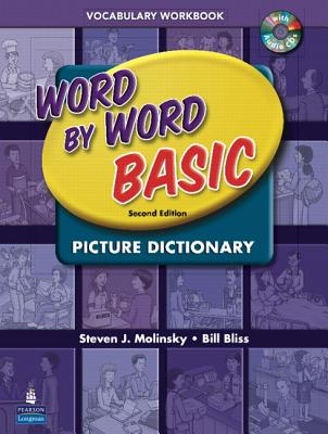 Image for Word by Word Basic Picture Dictionary Vocabulary Workbook with Audio CDs