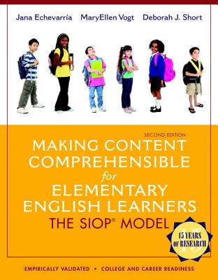 Image for Making Content Comprehensible for Elementary English Learners: The SIOP Model (2nd Edition)