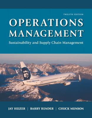 Image for Operations Management: Sustainability and Supply Chain Management (12th Edition)