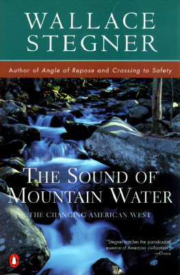 Image for The Sound of Mountain Water: The Changing American West