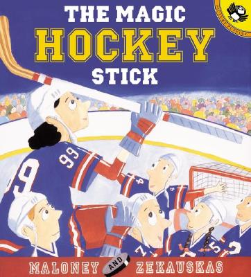 The Magic Hockey Stick (Picture Puffins), Peter Maloney