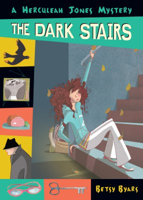 The Dark Stairs (Herculeah Jones Mystery), Byars, Betsy