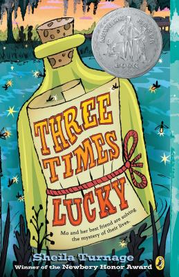 Image for THREE TIMES LUCKY (MO & DALE MYSTERY, NO 1)