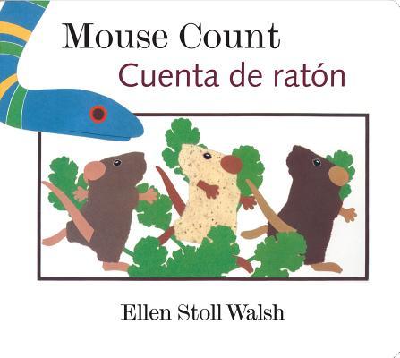 "Mouse Count/Cuenta de raton: [Lap-Sized Board Book], ""Walsh, Ellen Stoll"""